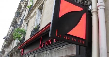 Le Vin en Tête St. Placide Paris
