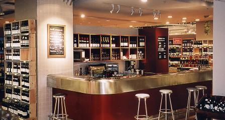 Monoprix Vaugirard bar à vin