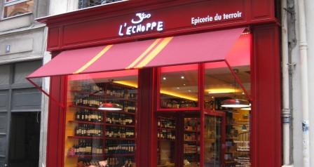L'échoppe rue Drouot Paris
